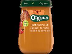 Organix Jar_ButternutSquash_Tomato_Lentils_OliveOil