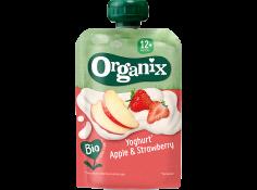 Yoghurt, apple and strawberry_organix